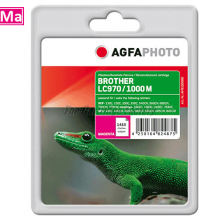 AGFAPHOTO Inktcartridge Brother LC970/LC1000M