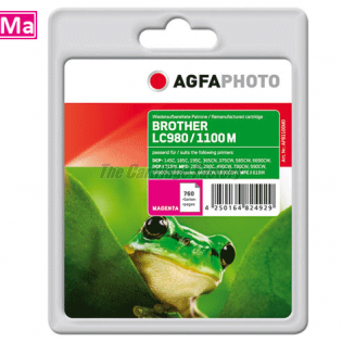 LC980/LC1100M AGFAPHOTO Inktcartridge Brother