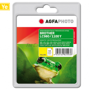 LC980/LC1100Y AGFAPHOTO Inktcartridge Brother