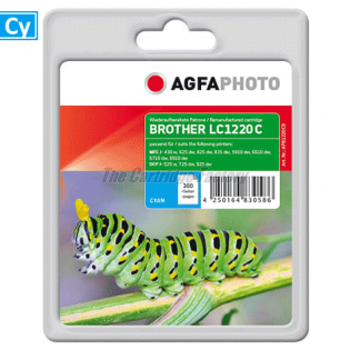 LC1220/LC1240C AGFAPHOTO Inktcartridge Brother