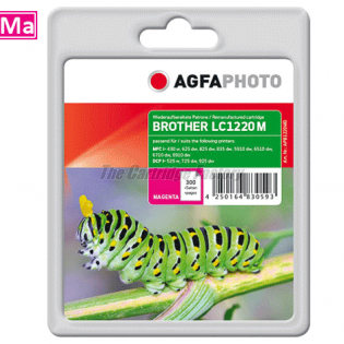LC1220/LC1240M AGFAPHOTO Inktcartridge Brother
