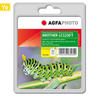 LC1220/LC1240Y AGFAPHOTO Inktcartridge Brother