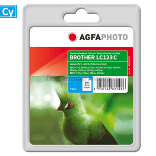 LC123C AGFAPHOTO Inktcartridge Brother