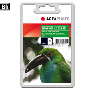LC223BK AGFAPHOTO Inktcartridge Brother