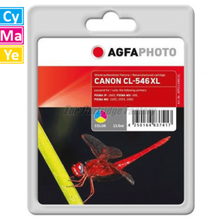 CL546XL AGFAPHOTO Inktcartridge Canon