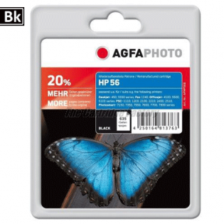 HP C6656A AGFAPHOTO Inktcartridge HP