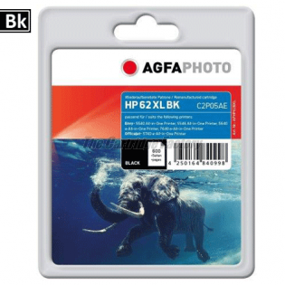HP 62XL AGFAPHOTO Inktcartridge HP