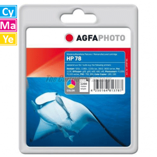 HP 78A AGFAPHOTO Inktcartridge HP