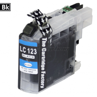 TCF Inktcartridge Brother LC123BK