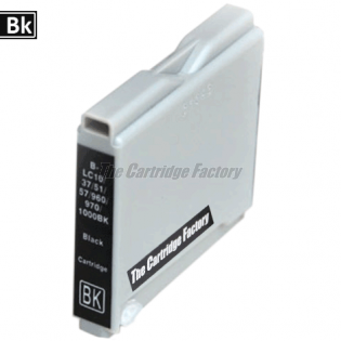TCF Inktcartridge, Brother LC1000BK