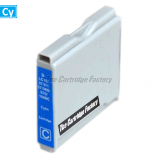 TCF Inktcartridge Brother LC1000C
