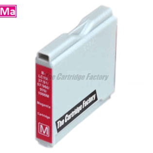TCF Inktcartridge Brother LC1000M