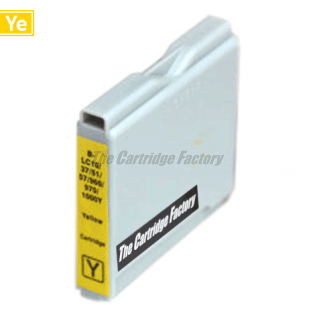 TCF Inktcartridge, Brother LC970Y
