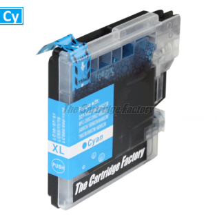 TCF Inktcartridge, Brother LC985C