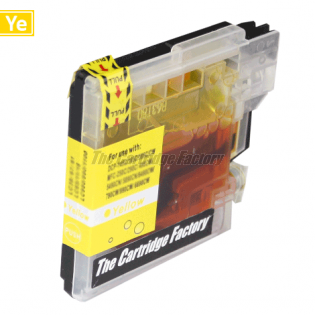 TCF Inktcartridge, Brother LC985Y