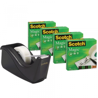 TCF Plakbanddispenser Scotch C60BK4